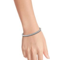 Bracelet façon cuir blanc...