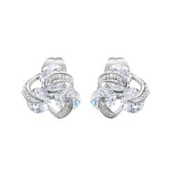 Silver earrings by BR01