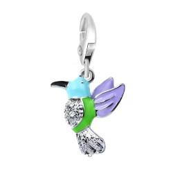 BR01 pájaro decorado con...