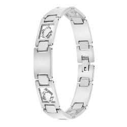 Man bracelet steel Taurus