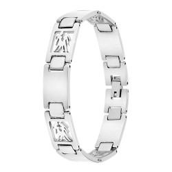 Bracelet homme acier Gémeaux