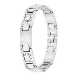 Man bracelet steel Cancer