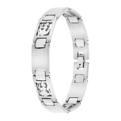 Bracelet homme acier Vierge