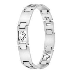 Capricorn steel man bracelet