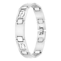 Bracelet homme acier Poisson
