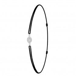 Bracelet lettre O élastique...