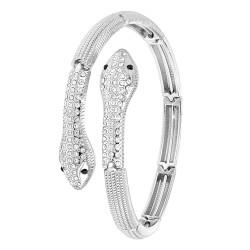 Bracelet bangle serpent BR01