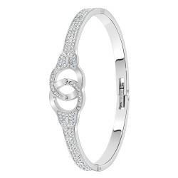 Bracelet menottes BR01 orné...