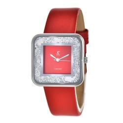 Leila SoCharm watch adorned...