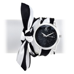 Aïna scarf SoCharm watch