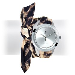 Alexia scarf SoCharm watch
