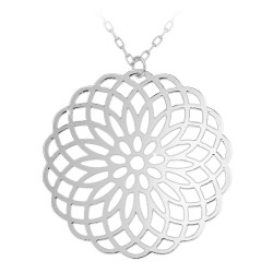 Silver filigree necklace by...