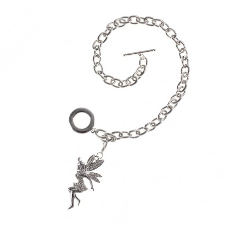 Collier chaine + fée