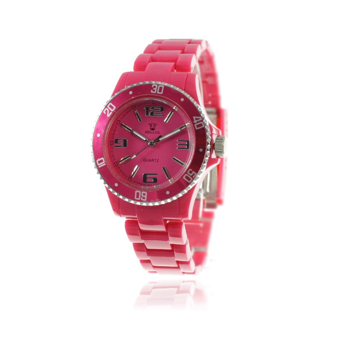 Montre femme bracelet rose