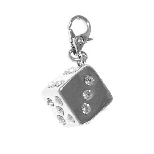 Charm Dé orné de cristaux SWAROVSKI® ELEMENTS par So Charm