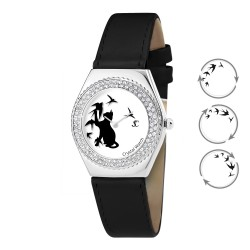 Alysson cat watch with BR01...