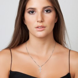 Letter T necklace BR01 in...