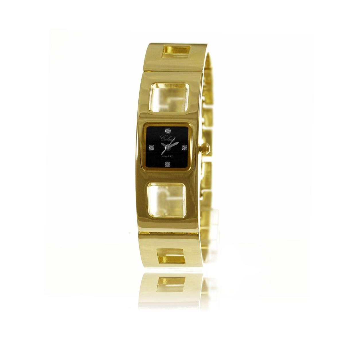 Montre bracelet métal pour femme