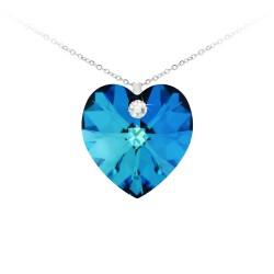 BR01 heart necklace adorned...
