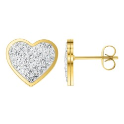 Stainless steel heart...