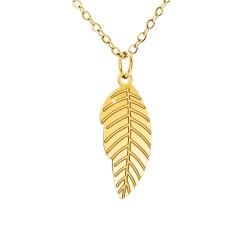 Leaf Necklace by SoCharm