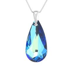Necklace in rhodium silver...
