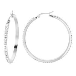 Stainless steel hoop...