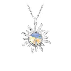 BR01 sun necklace adorned...