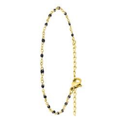Braccialetto di perle nere...