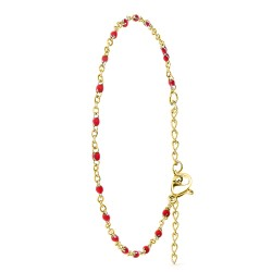 Braccialetto di perle rosse...