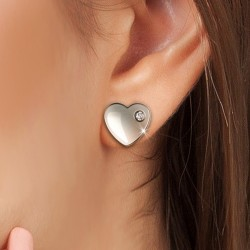 Boucles d'oreilles coeurs...