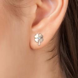 Boucles d'oreilles trèfles...