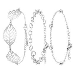 Lot de 3 bracelets BR01 en...