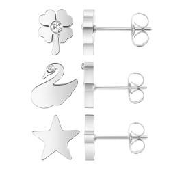 Star earrings by BR01...