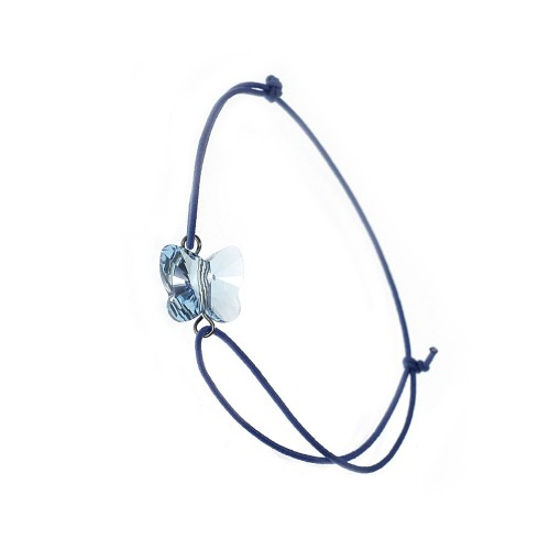 Bracelet Papillon bleu So Charm made with crystal from Swarovski