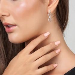 Infinity earrings by BR01