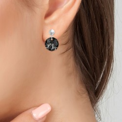 BR01 earrings adorned with...