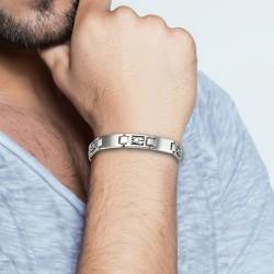 Gemini steel man bracelet