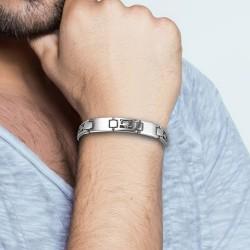 Bracelet homme acier Scorpion