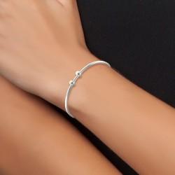 Silver fantasy bracelet