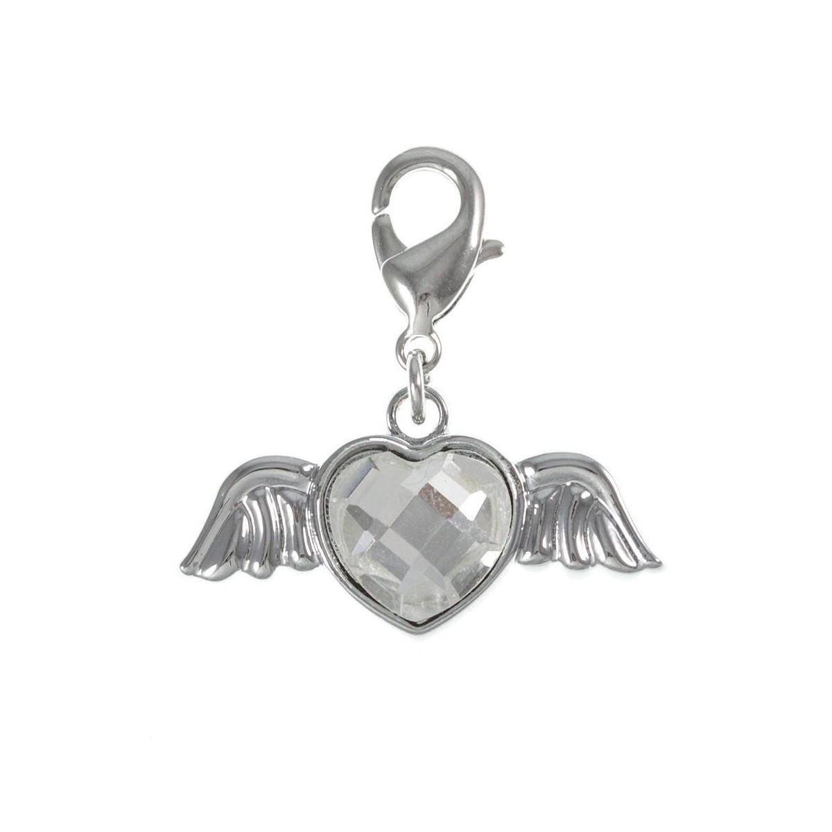 Charm ailes coeur strass So Charm