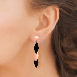 Boucles d'oreilles en acier...