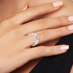 BR01 steel rings adorned...