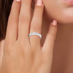 Steel BR01 ring adorned...