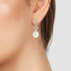 Earrings decorated with...
