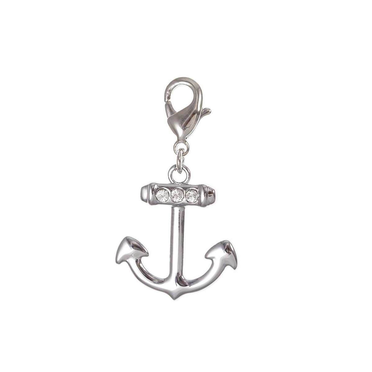Charm ancre strass So Charm