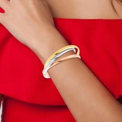 3 bracelets en acier...