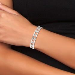 Brave bracelet in stainless...