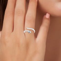 BR01 snake ring adorned...