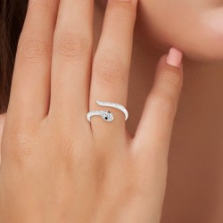 Bague serpent taille 54...